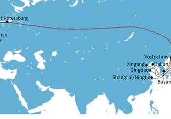 Maersk's AE19 sea-rail-sea goes east