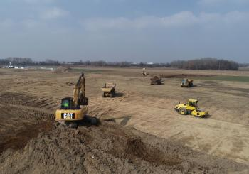 Hupac starts building its new terminal in Poland