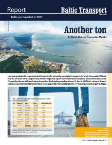 BTJ 2/18 - Report: Another ton. Baltic port market in 2017