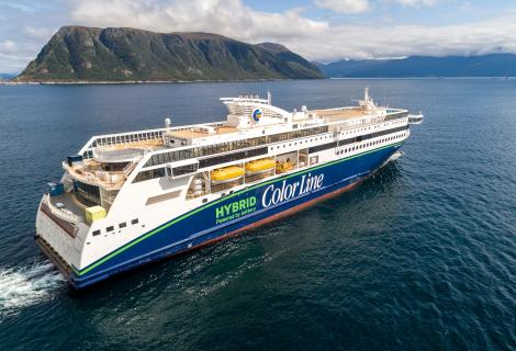 Color Line takes delivery of its eco-newbuild