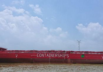 Containerships' newest box ship goes live