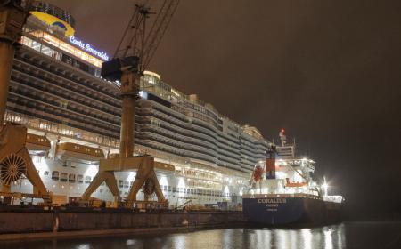 Gasum's first cruise ship LNG bunkering