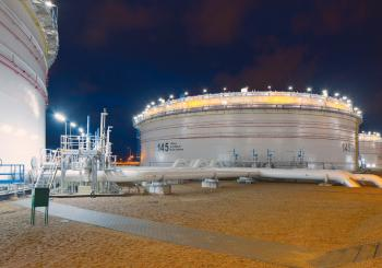 New storage tanks for crude oil in Gdańsk
