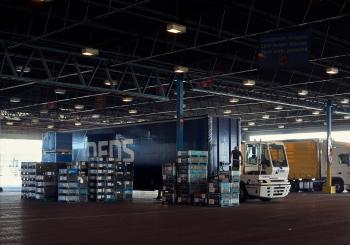 DFDS' new warehouse in Sweden