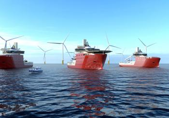 North Star Renewables' SOVs to serve the Dogger Bank Wind Farm