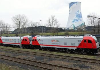 All-electric Dragons join OT Logistics' STK's locomotive fleet