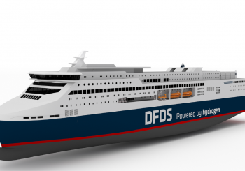 DFDS eyes constructing a green hydrogen ferry