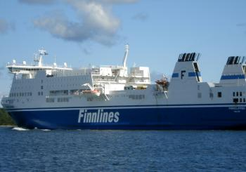 Finnclipper goes to the Med.