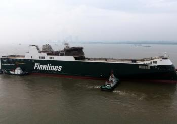 Finnlines' Finneco I - launched