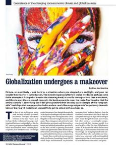 BTJ 1/19 - Globalization undergoes a makeover. Coexistence of the changing socioeconomic climate and global business