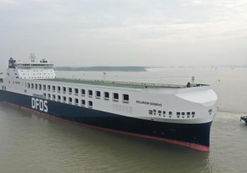 Hollandia Seaways enters DFDS' Gothenburg-Ghent service