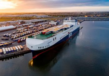 Capacity increase on DFDS' Ghent-Gothenburg route