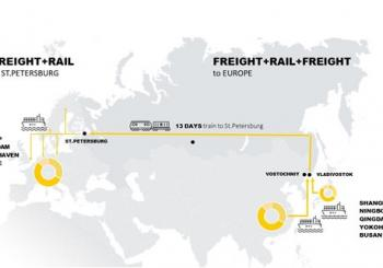 MSC launches its sea-rail New Silk Road service