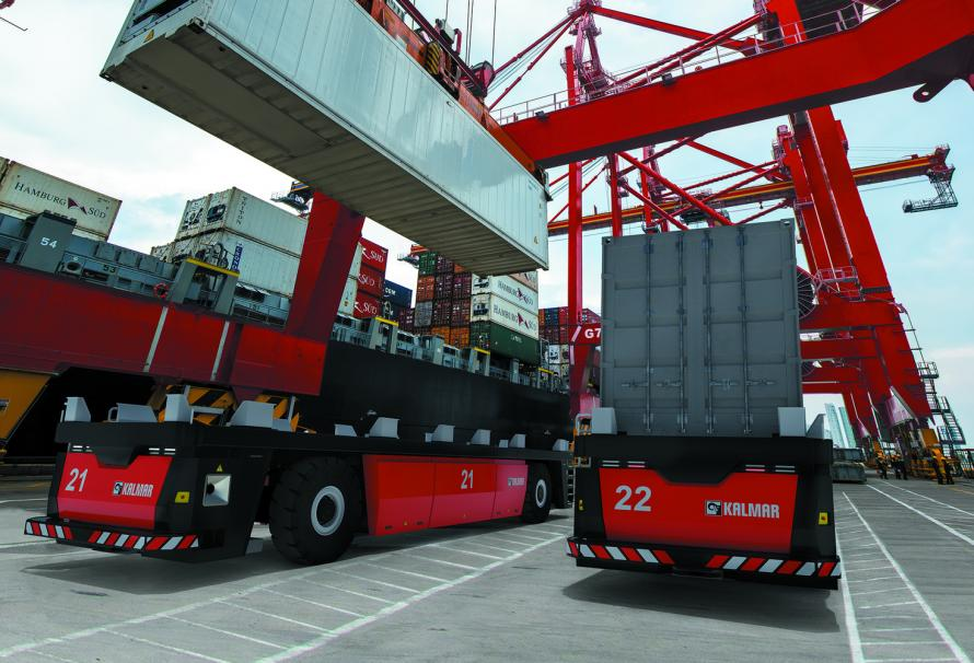 Kalmar launches an automated guided vehicle (AGV)