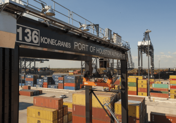 Port of Houston buys RTGs from Konecranes