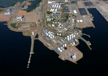LNG terminal in Hamina gets the go-ahead
