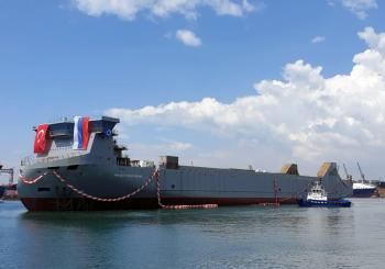 Russia's first LNG ro-ro