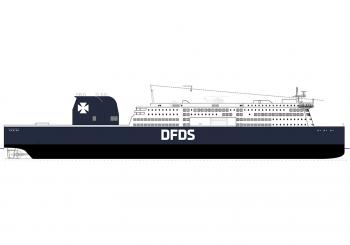 DFDS orders two new ro-paxes
