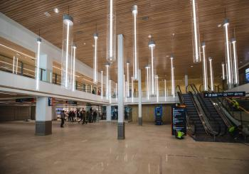 Tallinn opens the refurbished part of Terminal D