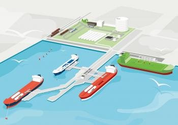 Construction works kick off at Gothenburg's shore LNG facility