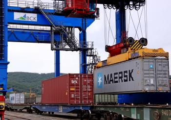 Maersk's first Asia-Europe sea-rail service