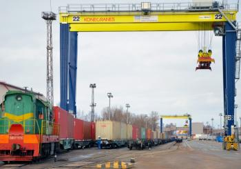 New rail container service St. Petersburg-Moscow