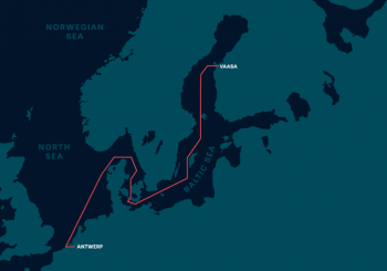 WALLENIUS SOL links Vaasa with Antwerp and Zeebrugge