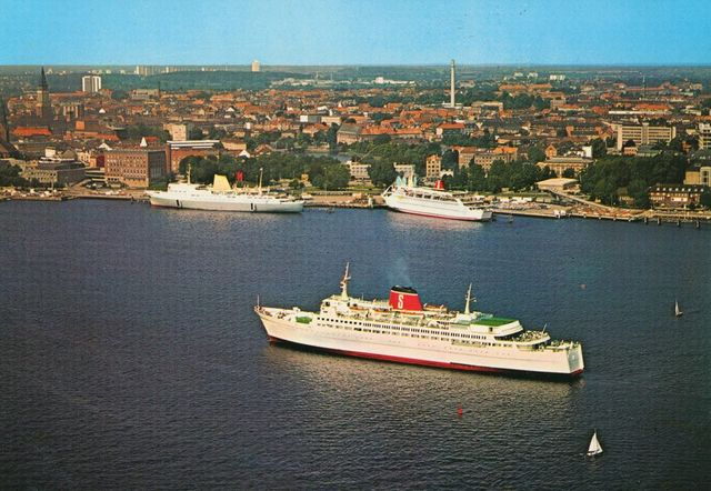 Half a century of Gothenburg-Kiel ferry-sailing