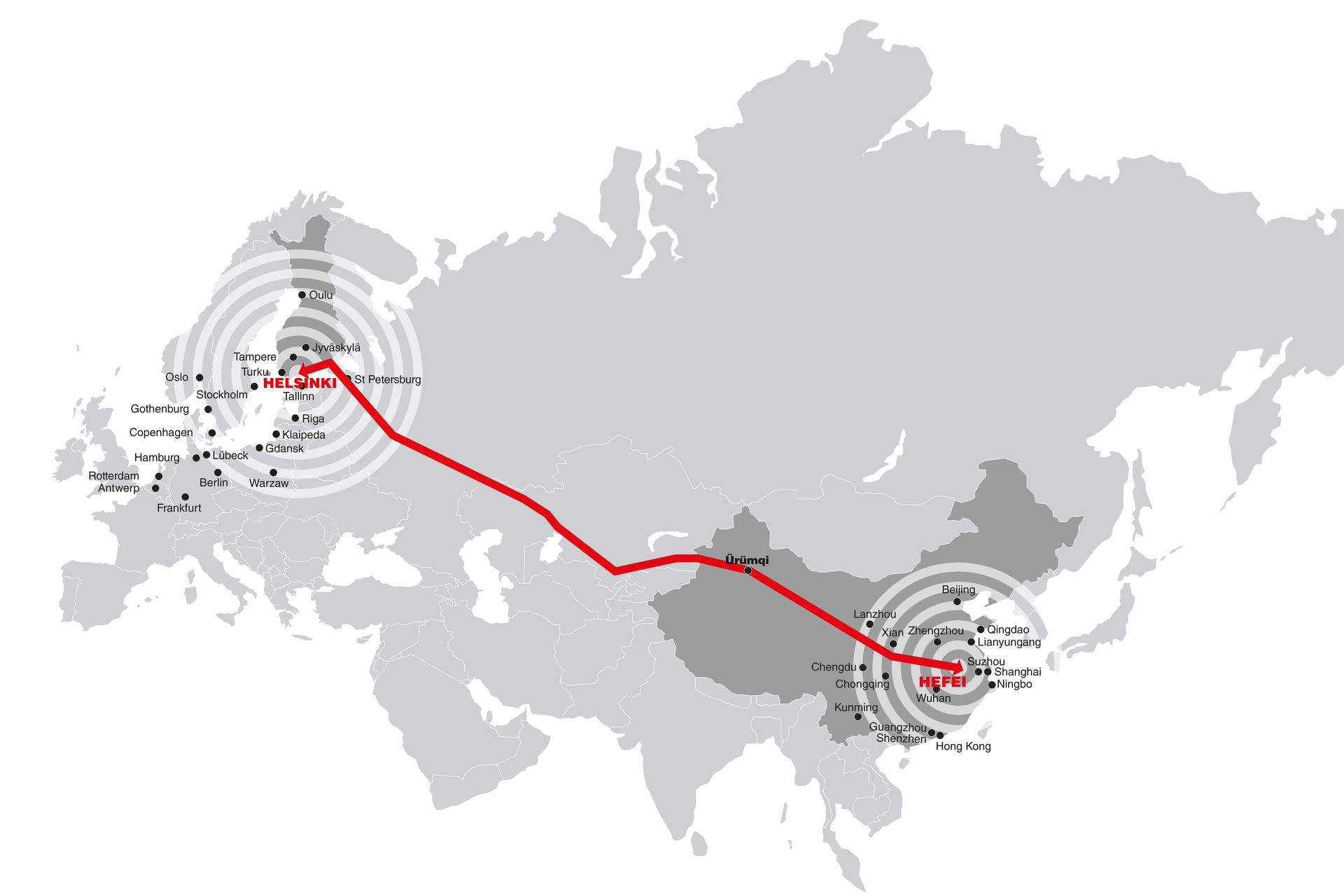 From Helsinki to Hefei