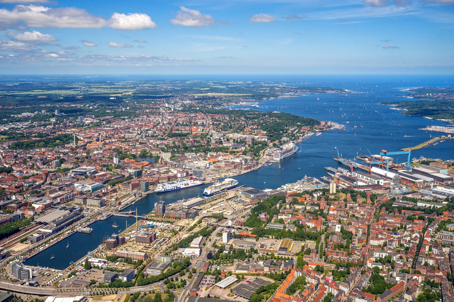 Kiel to become bigger, more multimodal, and eco-friendlier