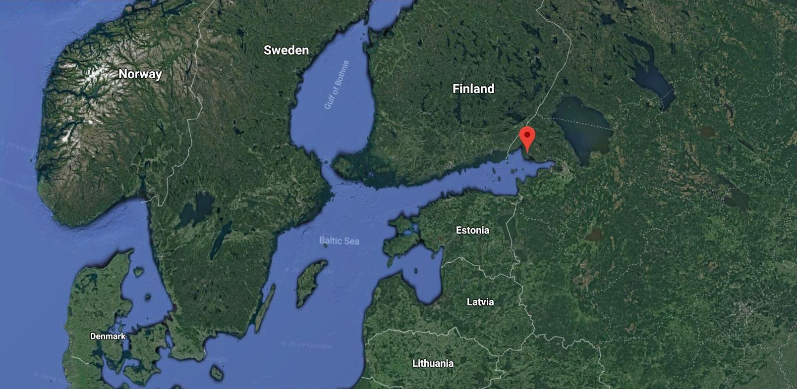 Russia's to have a new seaport in the Baltic