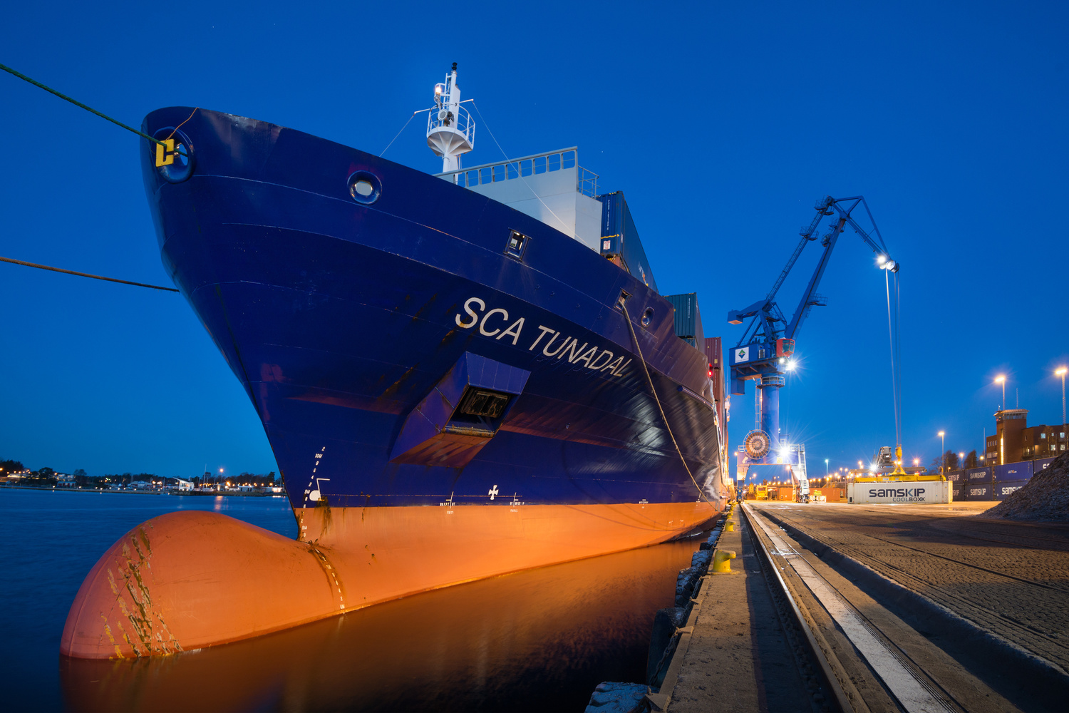 SCA's ContEx extends to Oxelösund