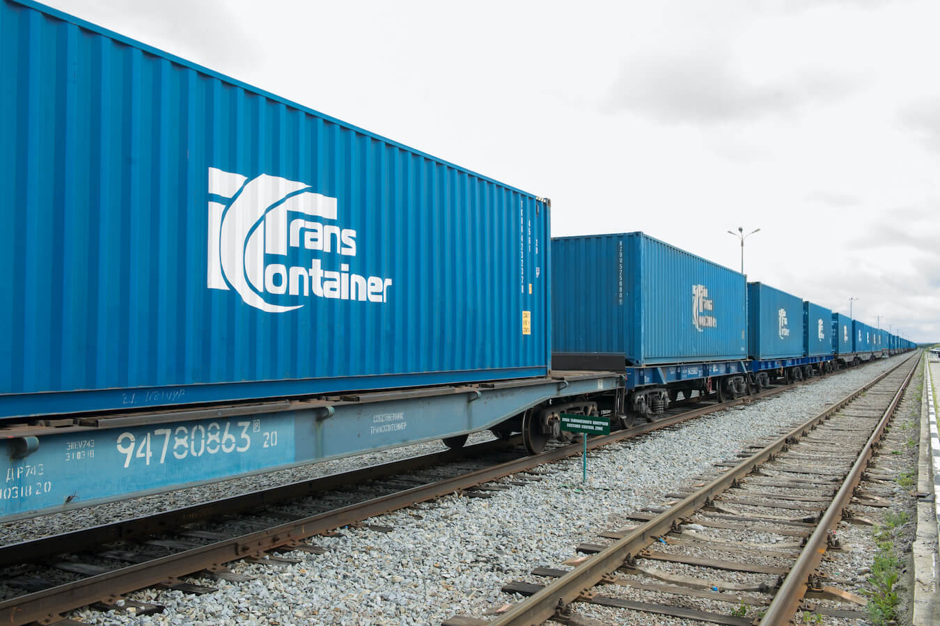 TransContainer trails the carriage of bulk goods in containers to China