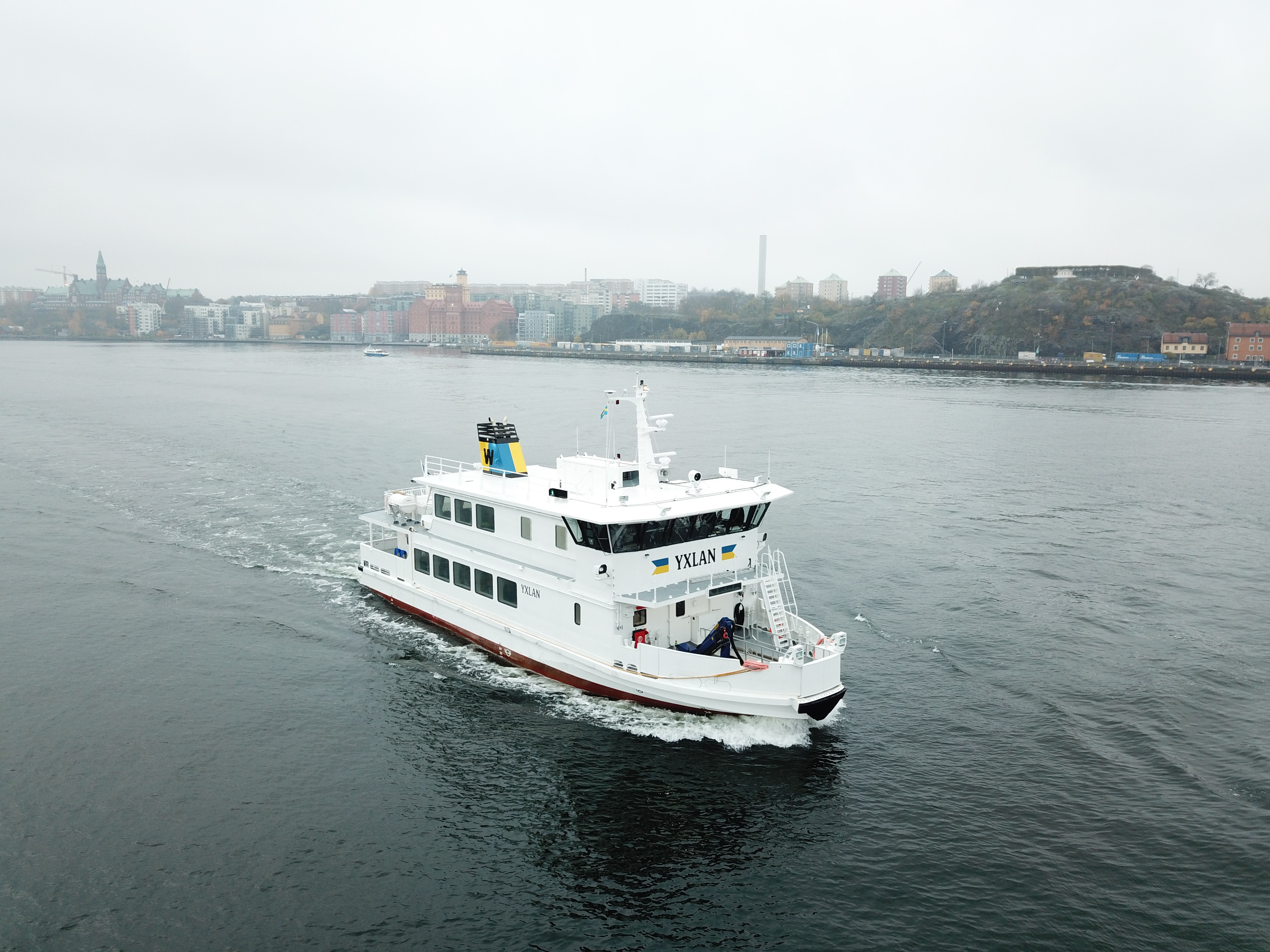 Waxholmsbolaget launches its first hybrid ship